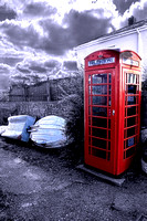 Red Telephone Box HDR3