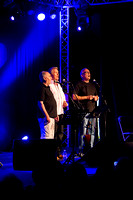 Maddy Prior with Hannah James & Giles Lewin @ Sidmouth Folk Week 2013